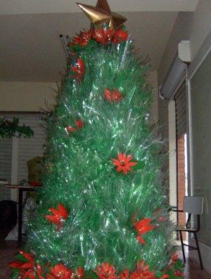 arvore de natal de garrafa pet como fazer Árvore de Natal de Garrafa Pet, Como Fazer