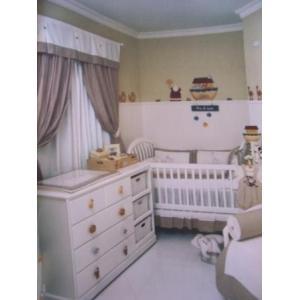 cortinas para quarto de bebe fotos modelos 4 Cortinas Para Quarto de Bebê, Fotos, Modelos