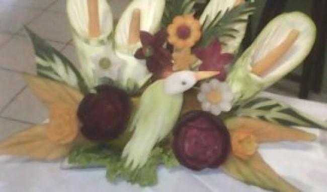 curso de esculturas em frutas e legumes2 Curso de Esculturas em Frutas e Legumes