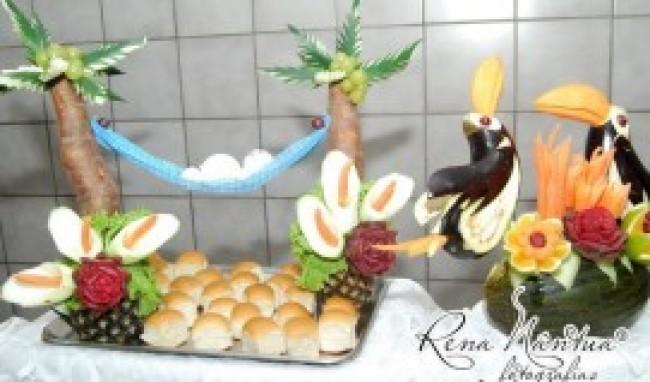 curso de esculturas em frutas e legumes5 Curso de Esculturas em Frutas e Legumes