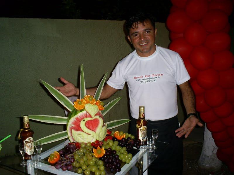 curso de esculturas em frutas e legumes71 Curso de Esculturas em Frutas e Legumes