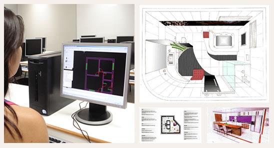 Curso no df design de interiores em bras lia for Curso de design de interiores no exterior
