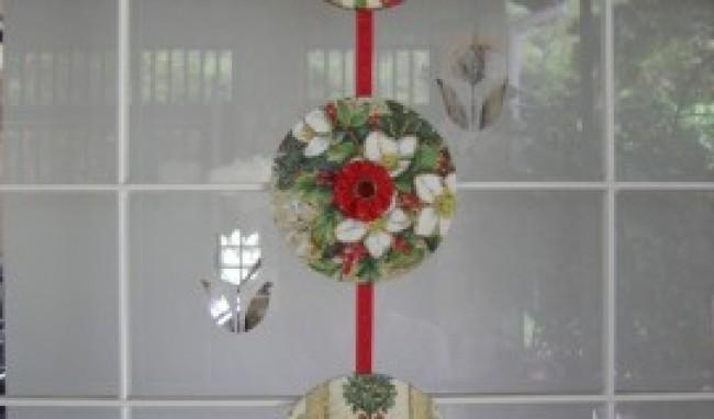 Enfeites de natal para portas fotos - Mobile porta cd ...