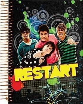 Linha de Cadernos do Restart1 Linha de Cadernos do Restart