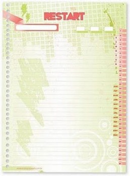 Linha de Cadernos do Restart7 Linha de Cadernos do Restart