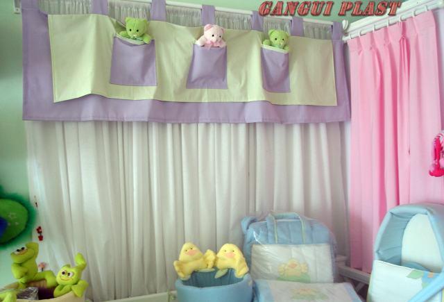 Cortina para quarto de beb masculino e feminino for Cortinas para ninas