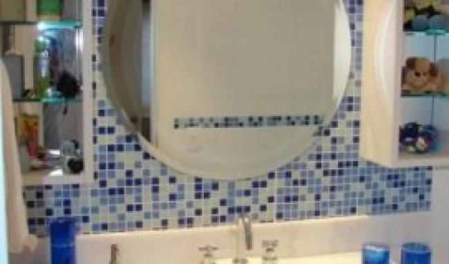 lavabos com pastilhas de vidro fotos 3 Lavabos Com Pastilhas De Vidro, Fotos