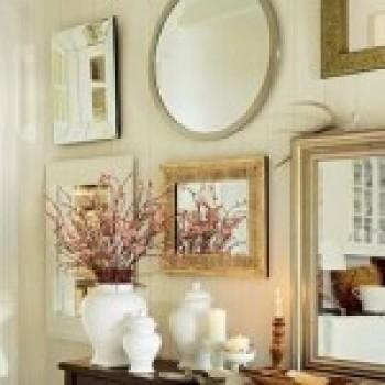 paredes decoradas com espelhos fotos 2 Paredes Decoradas Com Espelhos, Fotos