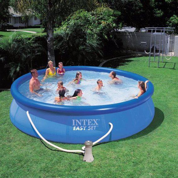 piscina de plastico redonda pequena