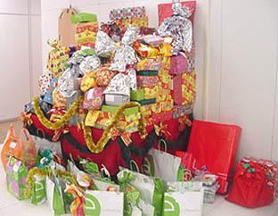 presentes de natal para funcionarios Presentes de Natal para funcionários