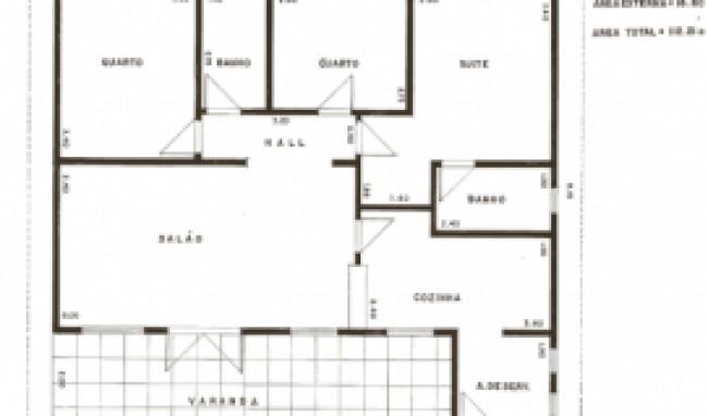 projetos de casas terreas 1 Projetos De Casas Térreas