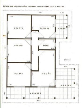 projetos de casas terreas 3 Projetos De Casas Térreas