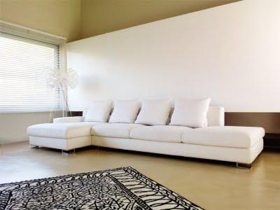 Tipos de sofas modernos