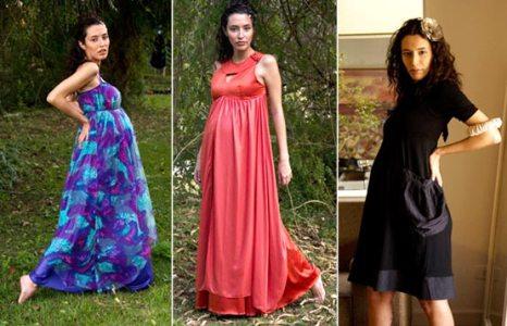 vestidos para gestantes modelos fotos 1 Vestidos Para Gestantes, Modelos, Fotos
