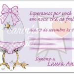 Chá de bebê 150x150 Convites para Chá de Bebê