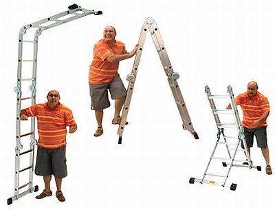 Escada Multiuso Super Ladder Preços Escada Multiuso Super Ladder Preços