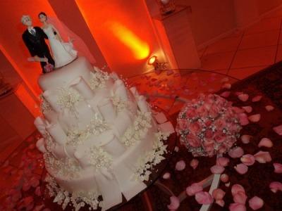 bolo de casamento decorado fotos 1 Bolo De Casamento Decorado, Fotos
