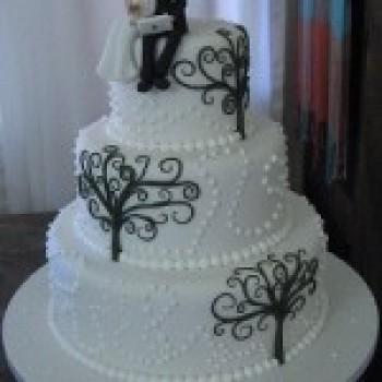 bolo de casamento decorado fotos 2 Bolo De Casamento Decorado, Fotos