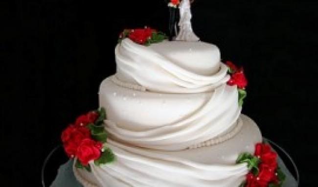 bolo de casamento decorado fotos 4 Bolo De Casamento Decorado, Fotos