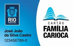cartã familia carioca inscrição vantagens 300x190 Cartão Família Carioca, Inscrição, Vantagens