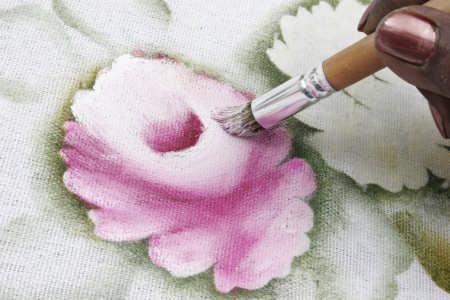 curso de pintura em tecido gratuito Curso de Pintura em Tecido Gratuito