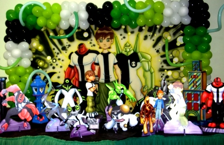 Do Ben 10 Fotos Decora    O De Anivers  Rio Do Ben 10  Fotos