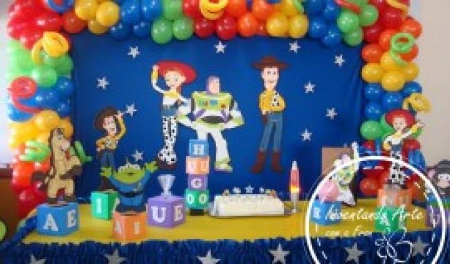 Toy Story 3 Fotos1 300x225 Decora    O De Festa Do Toy Story 3  Fotos