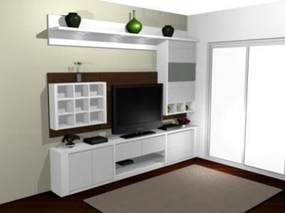 estante planejada para sala modelos fotos 1 Estante Planejada Para Sala, Modelos, Fotos