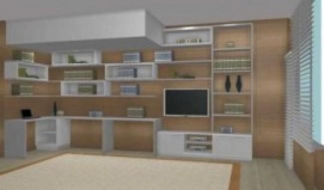 estante planejada para sala modelos fotos 2 Estante Planejada Para Sala, Modelos, Fotos
