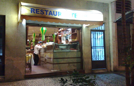 Fachadas de restaurantes id ias e fotos for Fachada para restaurante