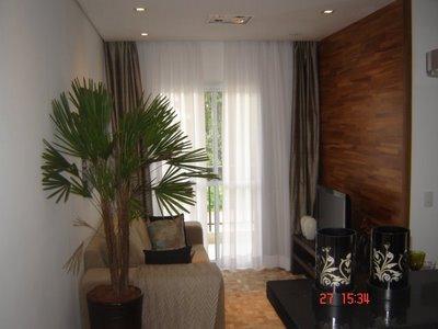 sala pequena decorada Sala de televisão pequena decorada