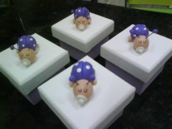 Decoracao em Biscuit Para Quarto de Bebe4 Decoração em Biscuit Para Quarto de Bebê