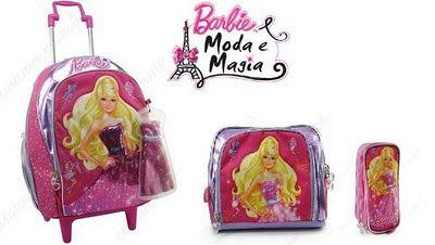 Material escolar Barbie Moda e Magia Material escolar Barbie Moda e Magia
