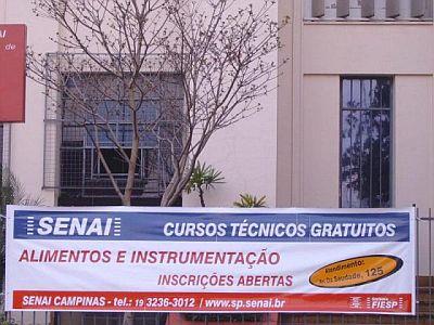 SENAI Campinas Cursos Gratis Endereços SENAI Campinas, Cursos Grátis, Endereços