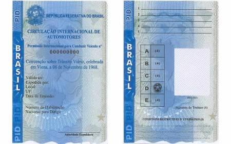carteira de motorista internacional como tirar quanto custa Carteira de motorista internacional   Como tirar, quanto custa
