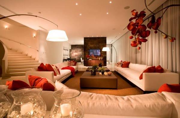 decoracao de sala de estar dicas Decoração em salas de estar – Dicas