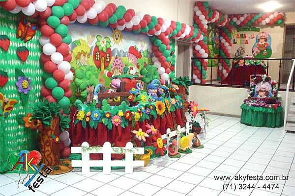 festa de aniversario moranguinho Festa de aniversário da Moranguinho