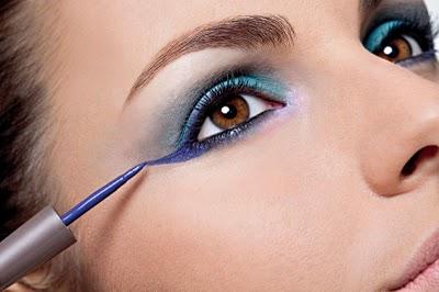 maquiagem noturna delinear olhos Maquiagem Noturna   Delinear Olhos