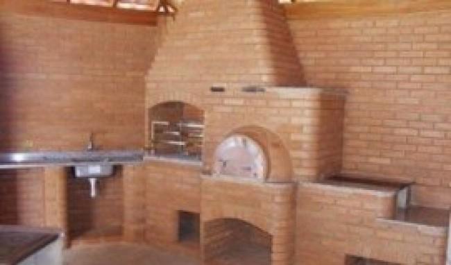 Churrasqueira Com Forno de Pizza Projetos1 Churrasqueira Com Forno de Pizza, Projetos