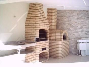 Churrasqueira Com Forno de Pizza Projetos5 Churrasqueira Com Forno de Pizza, Projetos