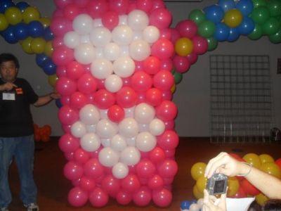 Decoração com Bolas Festa Infantil Decoração com Bolas Festa Infantil