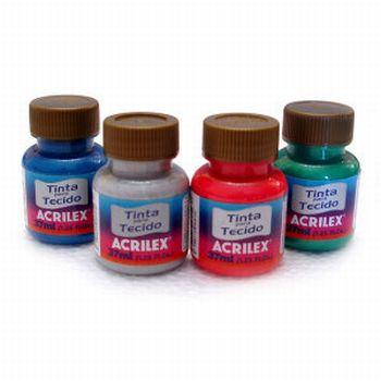 Tintas Acrilex para Tecidos Preços Tintas Acrilex para Tecidos Preços