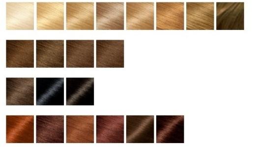 coloração garnier nutrisse tabela de cores 1 Coloração Garnier Nutrisse Tabela De Cores