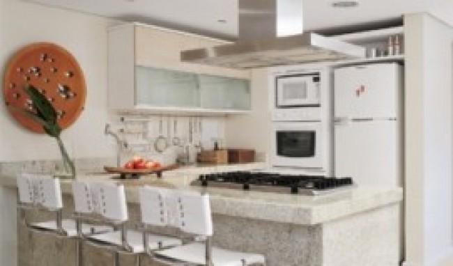 decoração de cozinha com balcão fotos dicas 1 Decoração De Cozinha Com Balcão, Fotos, Dicas