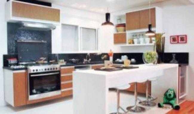 decoração de cozinha com balcão fotos dicas Decoração De Cozinha Com Balcão, Fotos, Dicas