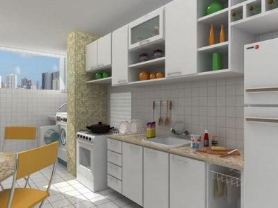 decoração de cozinha e area de serviço integradas Decoração De Cozinha E Área De Serviço Integradas