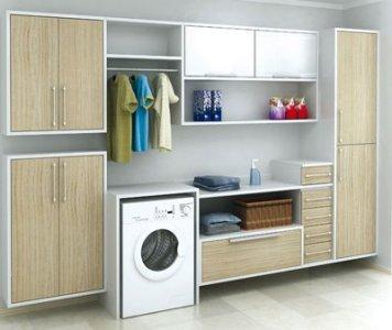 decoração de lavanderia de apartamento 3 Decoração De Lavanderia De Apartamento