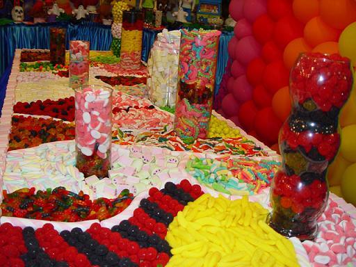 decoraçao com balas de goma–dicas Decoração Com Balas de Goma – Dicas
