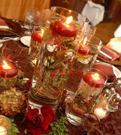 decoraçao com velas flutuantes–dicas Decoração Com Velas Flutuantes – Dicas