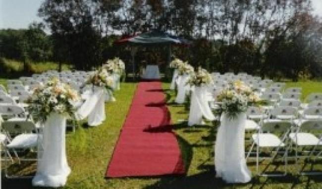 foto decoracao casamento no campo 02 Decoração de Casamento Durante o Dia, Fotos